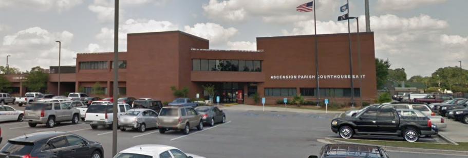 ascension parish courthouse