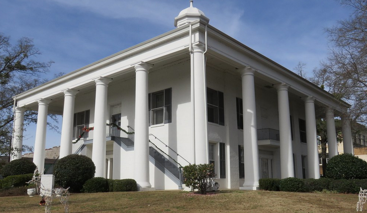 claiborne parish courthouse in homer, louisiana